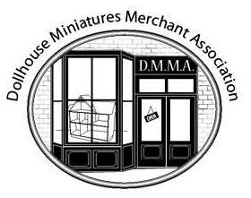 Dollhouse Miniatures Merchants Association Retina Logo